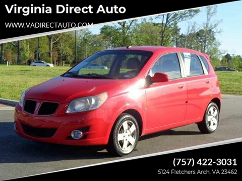 2009 Pontiac G3 for sale in Virginia Beach, VA