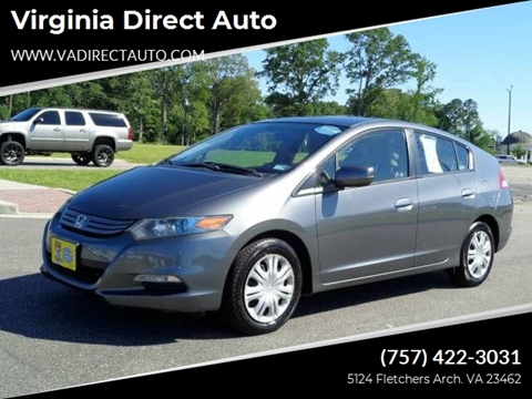 2011 Honda Insight for sale in Virginia Beach, VA