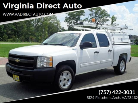 Cars For Sale In Virginia >> Chevrolet Used Cars Pickup Trucks For Sale Virginia Beach Virginia