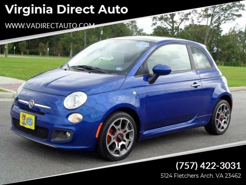 2012 FIAT 500 for sale in Virginia Beach, VA