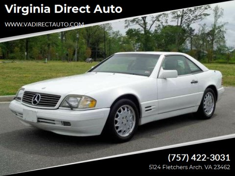 1996 Mercedes-Benz SL-Class for sale at Virginia Direct Auto in Virginia Beach VA