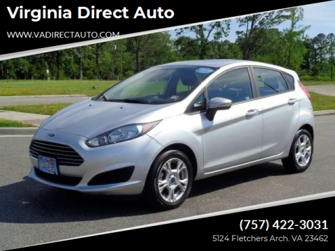 2016 Ford Fiesta for sale at Virginia Direct Auto in Virginia Beach VA