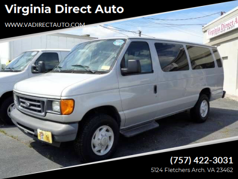 2007 Ford E-Series Wagon for sale at Virginia Direct Auto in Virginia Beach VA