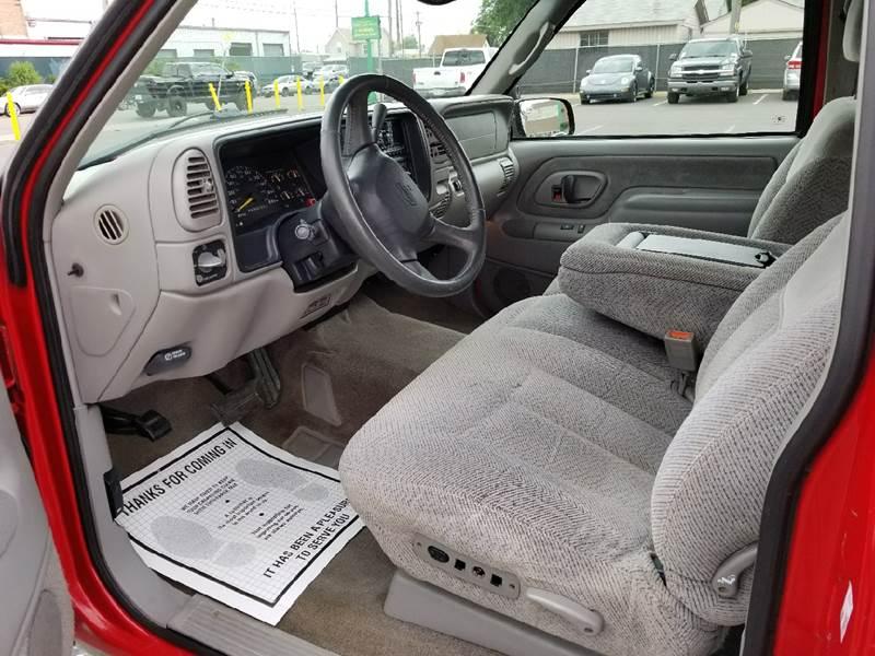 1998 Chevrolet C/K 1500 Series 2dr K1500 Silverado 4WD Extended Cab SB - Denver CO