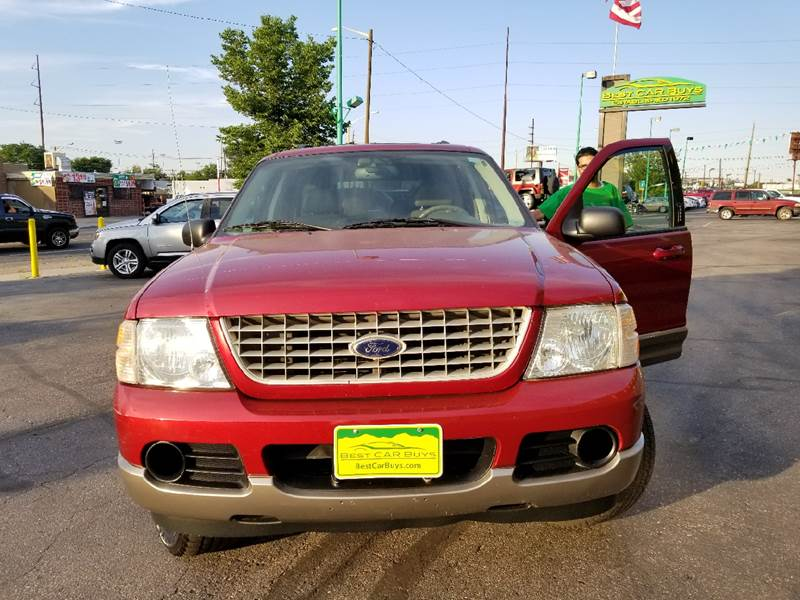 2004 Ford Explorer Eddie Bauer 4WD 4dr SUV - Denver CO