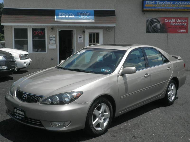 2006 toyota camry le 4dr sedan w automatic in feasterville trevose pa r n t. Black Bedroom Furniture Sets. Home Design Ideas