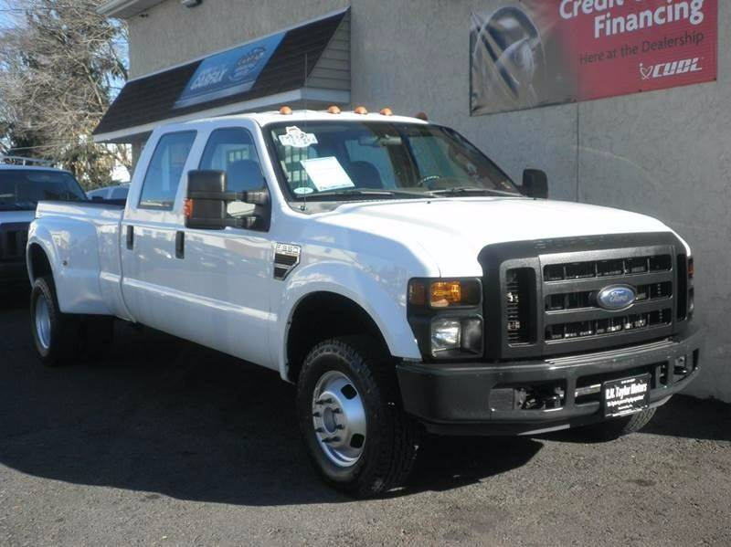 2008 ford f-350 super duty xl 4dr crew cab 4wd lb drw diesel in