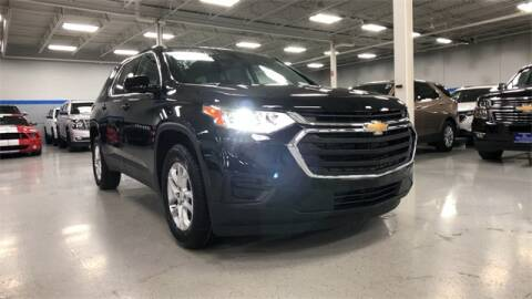 2020 Chevrolet Traverse LS for sale at The Chevrolet Exchange in Lake Bluff IL