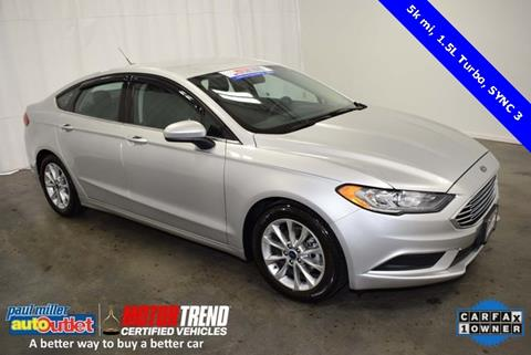 2017 Ford Fusion for sale in Lexington, KY