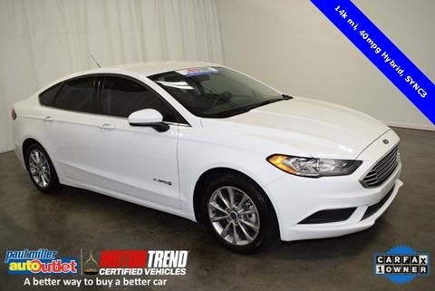 2017 Ford Fusion Hybrid for sale in Lexington, KY