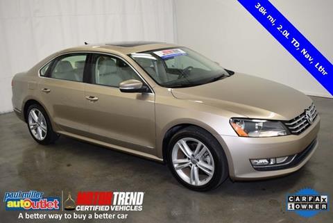 2015 Volkswagen Passat for sale in Lexington, KY