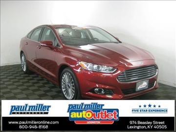 2016 Ford Fusion for sale in Lexington, KY