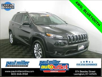 2016 Jeep Cherokee for sale in Lexington, KY