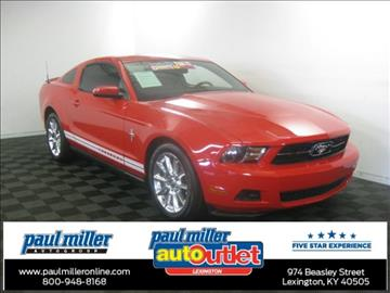 2010 Ford Mustang for sale in Lexington, KY