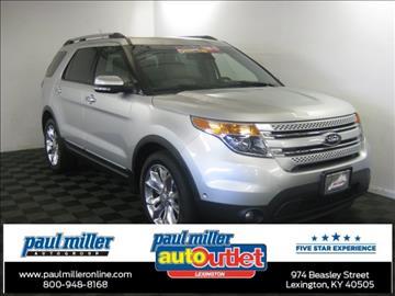 2013 Ford Explorer for sale in Lexington, KY