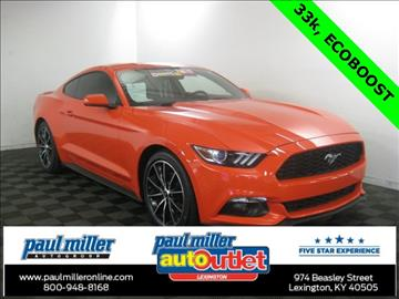 2015 Ford Mustang for sale in Lexington, KY