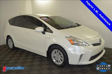 2013 Toyota Prius v for sale in Lexington, KY