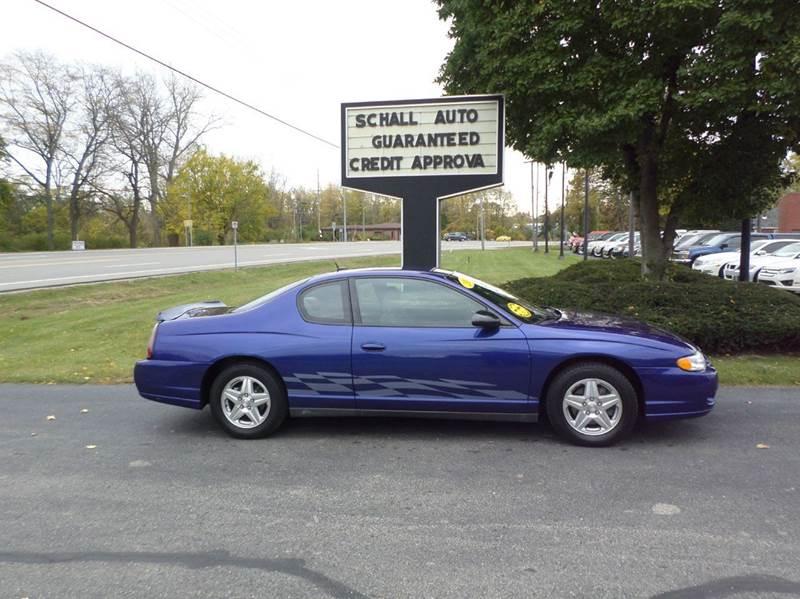 2005 Chevrolet Monte Carlo for sale at Schall Automotive in Monroe MI