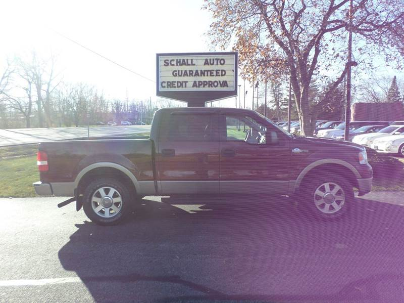 2005 Ford F-150 for sale at Schall Automotive in Monroe MI