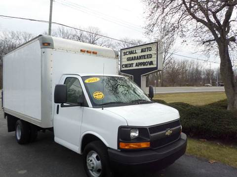 2012 Chevrolet Express Cutaway for sale at Schall Automotive in Monroe MI
