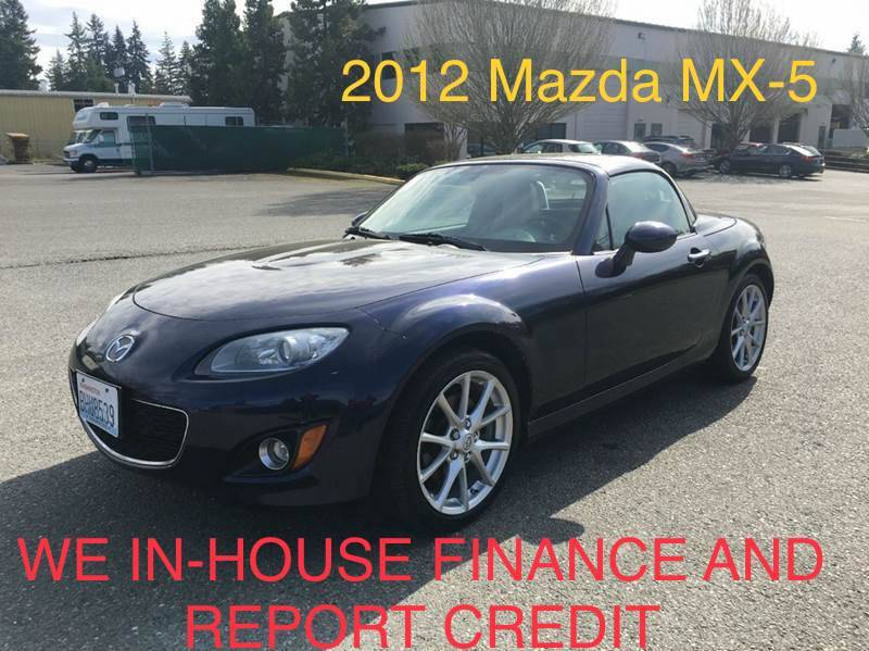 2012 Mazda MX 5 Miata For Sale At CAR CRAFT Auto Sales In Lynnwood WA