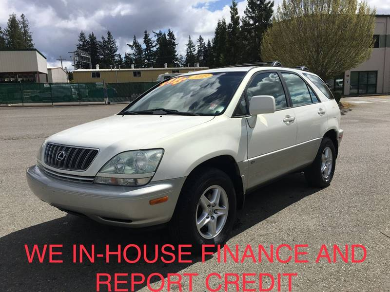 2003 Lexus RX 300 For Sale At CAR CRAFT Auto Sales In Lynnwood WA