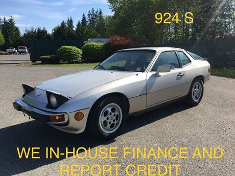 1987 Porsche 924 for sale in Lynnwood, WA