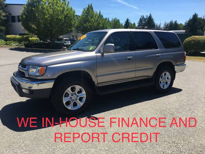 2001 Toyota 4Runner For Sale At CAR CRAFT Auto Sales In Lynnwood WA