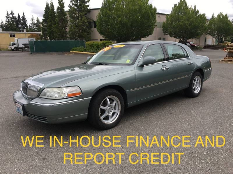 2006 Lincoln Town Car Signature In Lynnwood Wa Car Craft Auto Sales