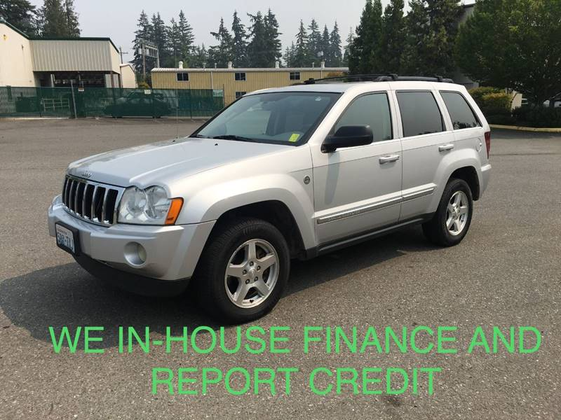 Lovely 2005 Jeep Grand Cherokee For Sale At CAR CRAFT Auto Sales In Lynnwood WA