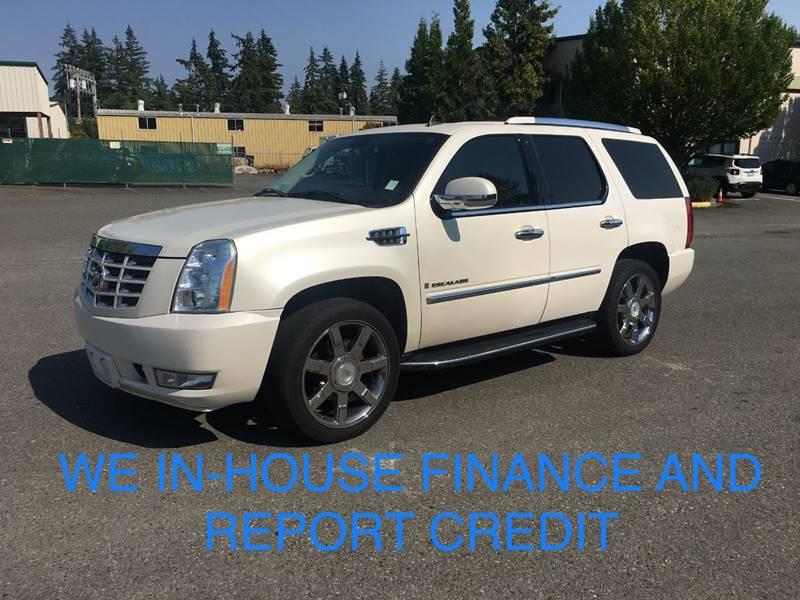 2007 Cadillac Escalade In Lynnwood Wa Car Craft Auto Sales