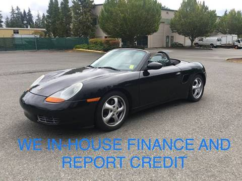 2000 Porsche Boxster for sale in Lynnwood, WA