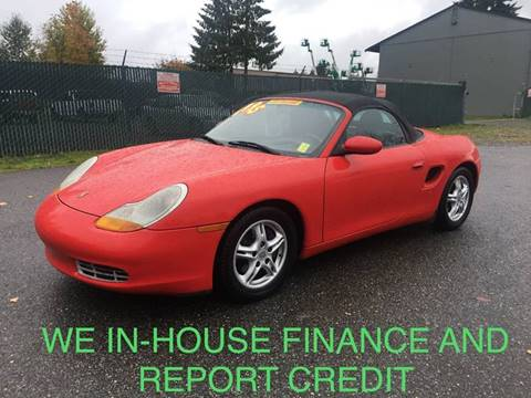 1997 Porsche Boxster for sale in Lynnwood, WA