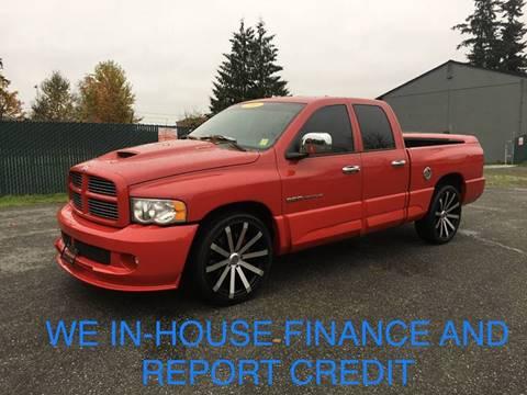 Dodge Ram Srt10 For Sale >> 2005 Dodge Ram Pickup 1500 Srt 10 For Sale In Lynnwood Wa