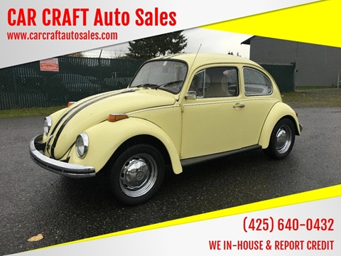 Car Craft Vw >> Volkswagen Beetle For Sale In Lynnwood Wa Car Craft Auto