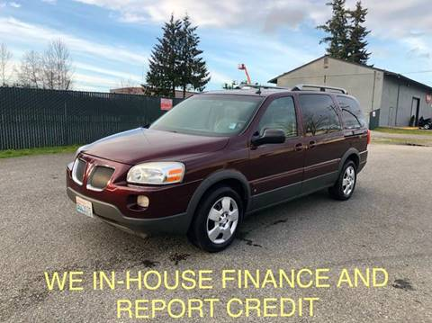 2006 Pontiac Montana SV6 for sale in Lynnwood, WA