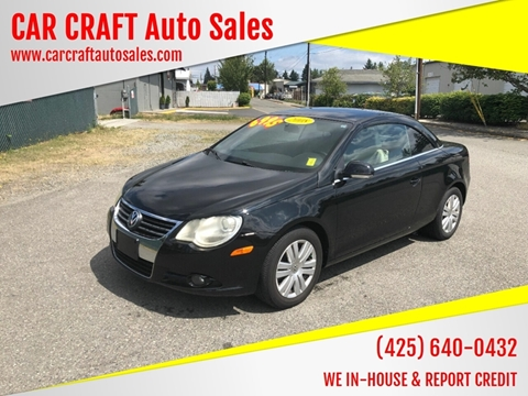 Car Craft Vw >> Volkswagen Eos For Sale In Lynnwood Wa Car Craft Auto Sales