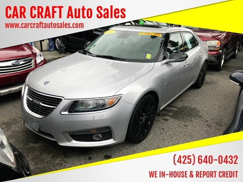 2011 Saab 9-5 for sale in Lynnwood, WA