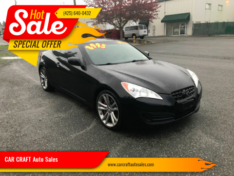 2010 Hyundai Genesis Coupe for sale at Car Craft Auto Sales Inc in Lynnwood WA