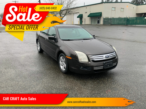 2006 Ford Fusion for sale at Car Craft Auto Sales Inc in Lynnwood WA