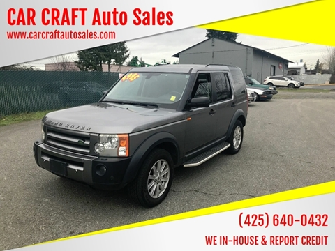 2008 Land Rover LR3 for sale in Lynnwood, WA
