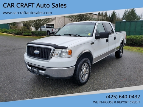 2007 Ford F-150 for sale at Car Craft Auto Sales Inc in Lynnwood WA