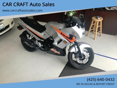 2004 Kawasaki Ninja 250R for sale at Car Craft Auto Sales Inc in Lynnwood WA