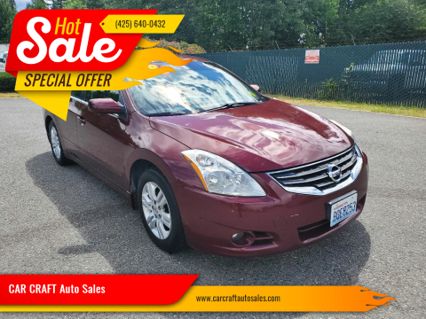 2011 Nissan Altima for sale at Car Craft Auto Sales Inc in Lynnwood WA