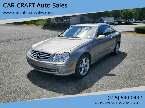 2004 Mercedes-Benz CLK for sale at Car Craft Auto Sales Inc in Lynnwood WA