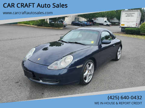 1999 Porsche 911 for sale at Car Craft Auto Sales Inc in Lynnwood WA