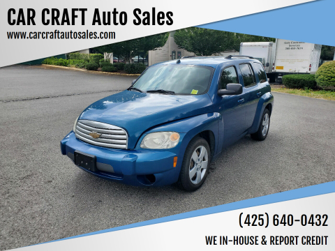 2010 Chevrolet HHR for sale at Car Craft Auto Sales Inc in Lynnwood WA