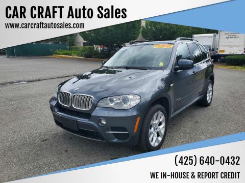 2013 BMW X5 for sale at Car Craft Auto Sales Inc in Lynnwood WA