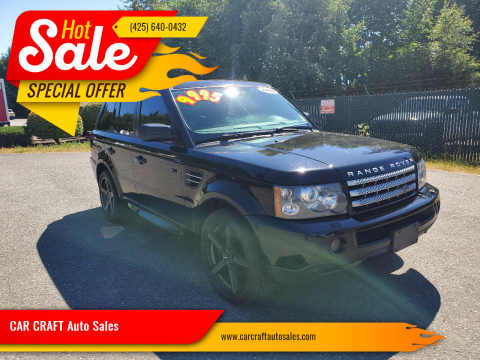 2008 Land Rover Range Rover Sport for sale at Car Craft Auto Sales Inc in Lynnwood WA