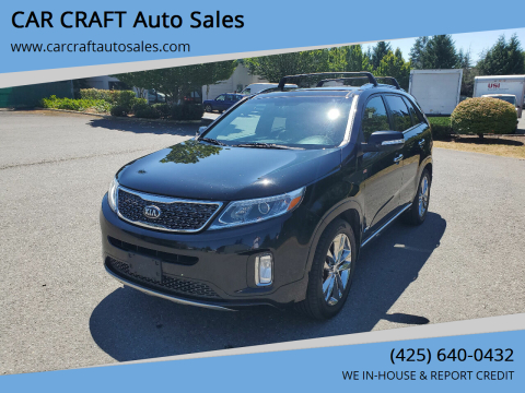 2014 Kia Sorento for sale at Car Craft Auto Sales Inc in Lynnwood WA